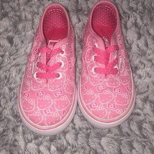 Vans Hello Kitty Pink Size 5.5